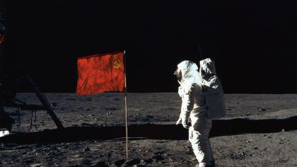 Uomo sulla Luna: Astronauta Unione Sovietica