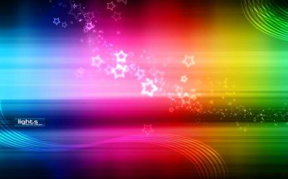 Sfondo Rainbow fantastico con tanti colori