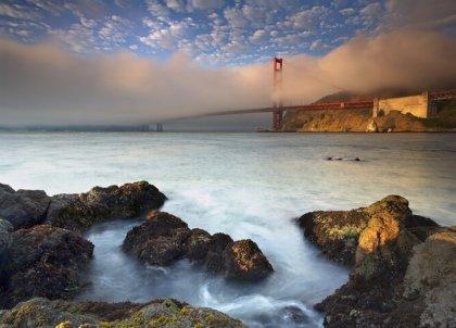 Sfondo Panoramico per computer: Golden Gate