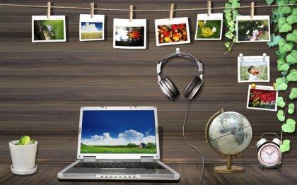 Posto di lavoro Scrivania desktop