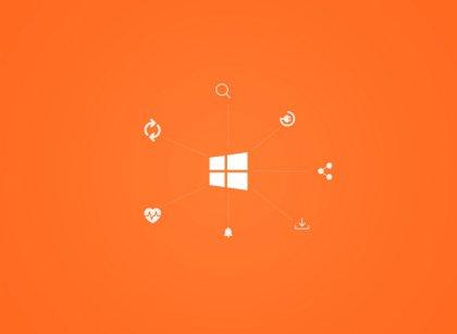 Personalizza il tuo PC: sfondo color Arancione
