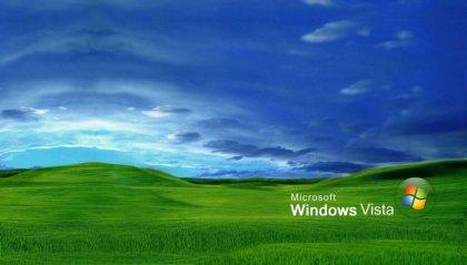 Sfondo Colline Windows Vista