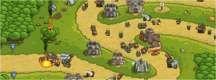 screenshots gioco kingdom rush