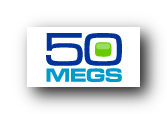 logo 50MEGS fornisce spazio web gratis