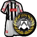 maglia e logo Udinese
