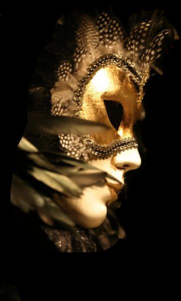 carnevale maschera con sfondo