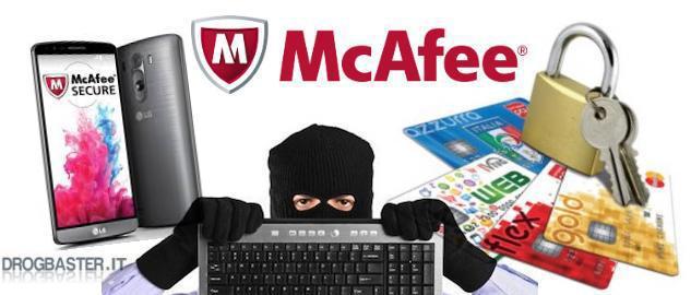 McAfee software antivirus