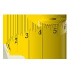 metro per misurare la lunghezza