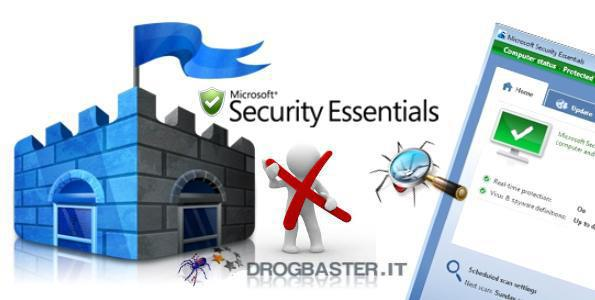 Microsoft Security Essentials antivirus