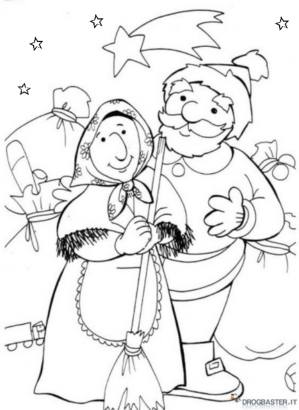 occasioni: befana insieme a babbo natale