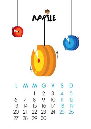 Scegli il mese o l'anno di inizio del calendario