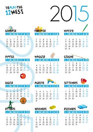 calendario gratis per la stampa