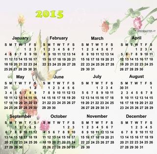 Calendari da parete con foto prodotti stampati