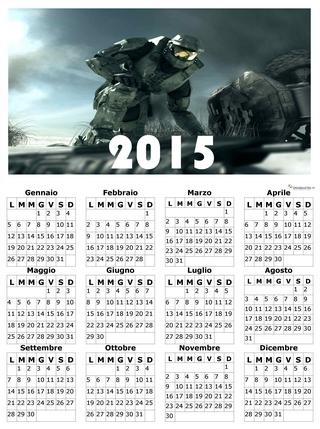 Immagine relativa al calendario annuale