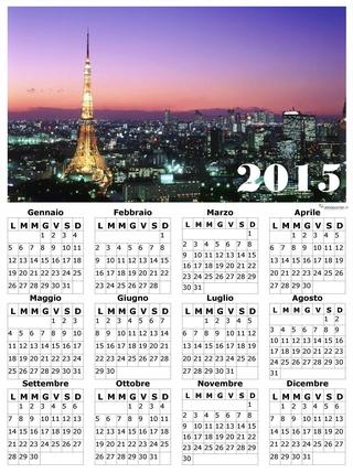 calendario gratis parigi