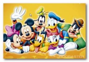 colora Walt Disney