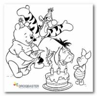 Colora Winnie The pooh gratis