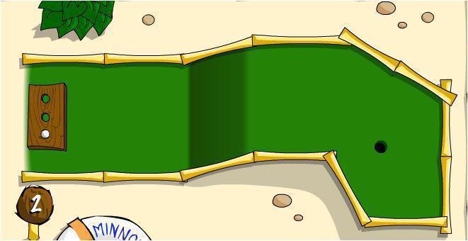 screenshots gioco minigolf