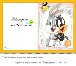 Biglietto nascita o battesimo da stampare gratis for Neonati da colorare e stampare