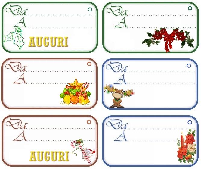 Etichette chiudipacco regali di natale da stampare gratis for Sito regali gratis