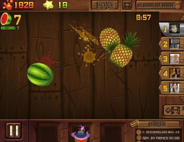 Fruit Ninja Frenzy