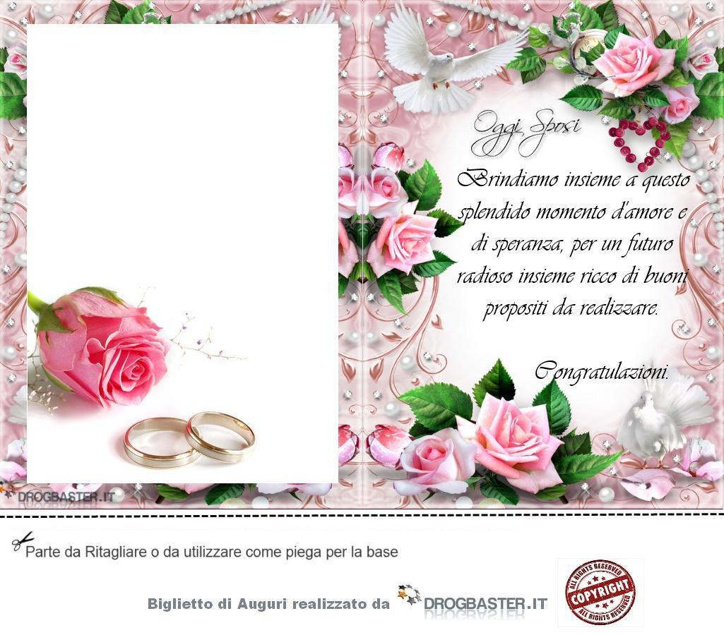 Auguri Di Matrimonio In Ritardo : Biglietto da stampare gratis in occasione matrimonio