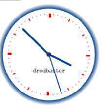 orologio realizzato in HTML5