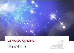 oroscopo del segno Ariete