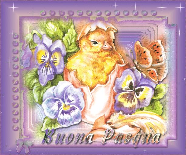 Immagini Buona Pasqua Gif Animate E Glitterate