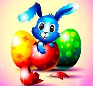 Pasqua raccolta immagini gif e glitter per decorazioni e - Lettere stampabili del coniglietto di pasqua ...