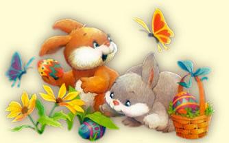 immagine conigli pasqua