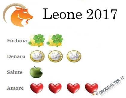 Previsione Leone: Fortuna, Denaro, Salute e Amore