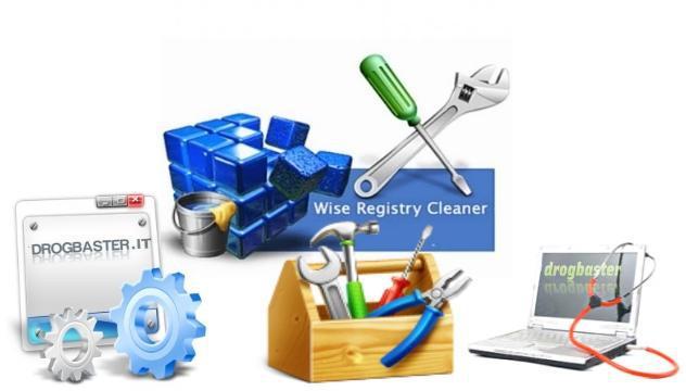 Software per la pulizia del registro di Windows