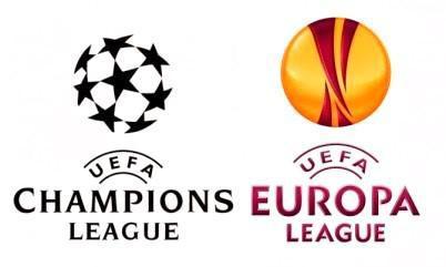 logo Champions League - Europa League