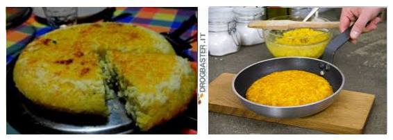 ricetta di cucina riso salto