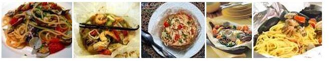 Ricetta cucina Italiana Cartocci Al Profumo Di Mare