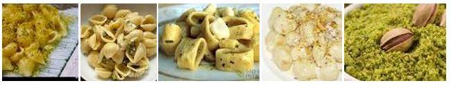 Primo piatto Conchigli al Gorgonzola e Pistacchio