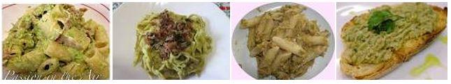 Primo piatto Crema Asparagi e Funghi
