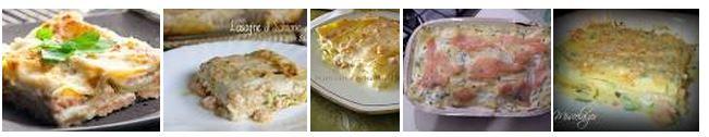 ricette primo piatto: Lasagne Al Salmone
