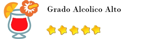 cocktail alcolico grado alcolico Alto valutazione: 5
