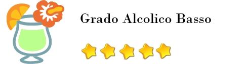 cocktail alcolico grado alcolico Medio valutazione: 5