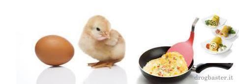 Ricette con le uova - frittata
