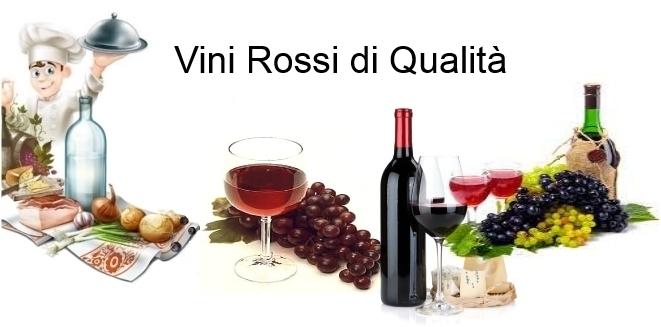 Vino rosso DOC di Qualità da servire a Tavola