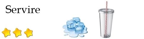 Cocktail da servire con ghiacchio e cannuccia voto: 3