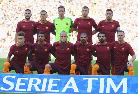 Foto di gruppo squadra Roma