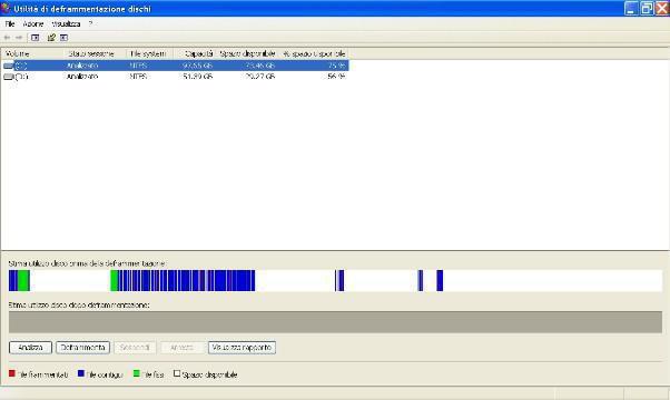Utilità di deframmentazione dischi