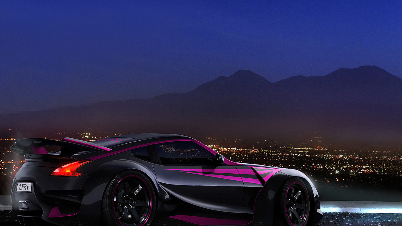 Black Sports Car Wallpaper: Auto Sportive Wallpaper Per Pc Desktop, Tablet E Smartphone