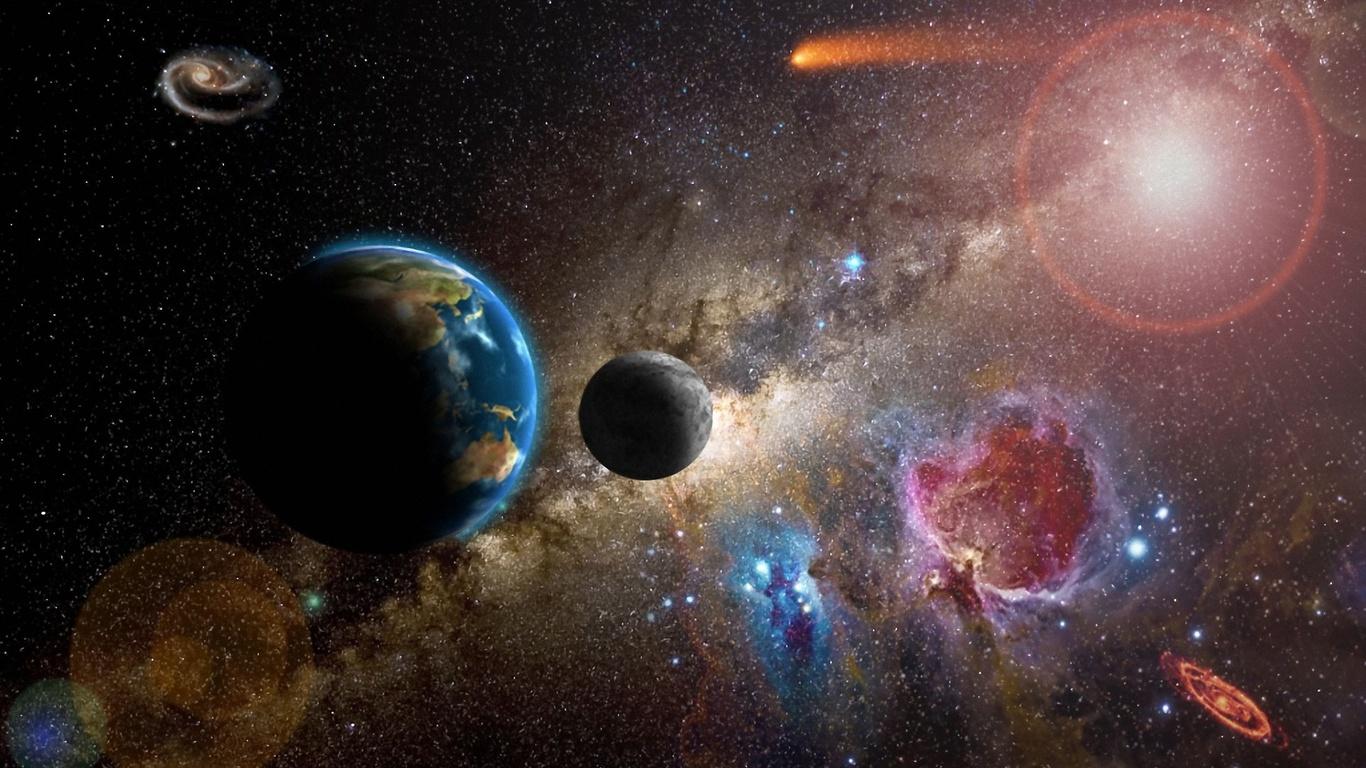 Sfondi spazio pianeti nebulose immagini del cosmo for Sfondi desktop universo