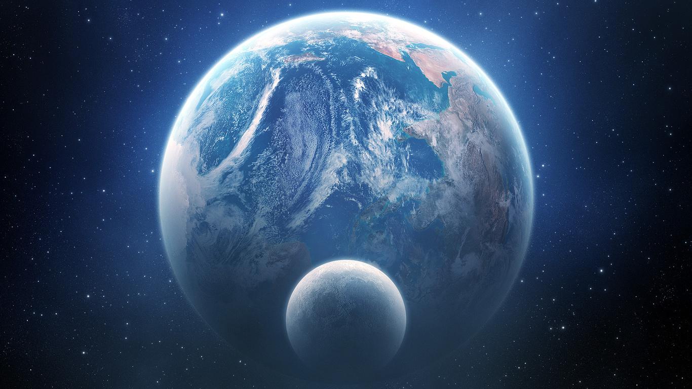 Immagini del cosmo e dello spazio da usare come sfondi desktop for Sfondi spaziali