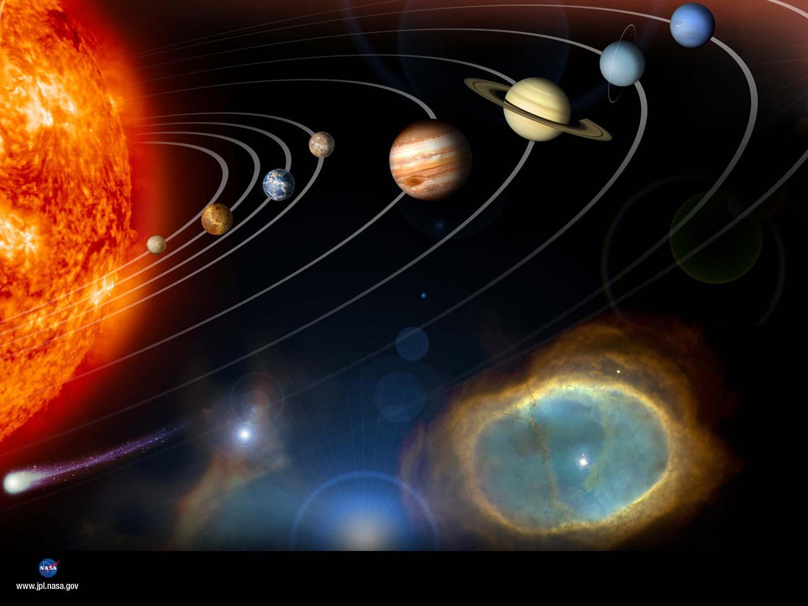 wallpapers e sfondi dei paineti del sistema solare